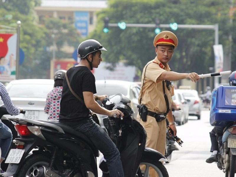 Nghiêm cấm CSGT Hà Nội truy đuổi người vi phạm - ảnh 1