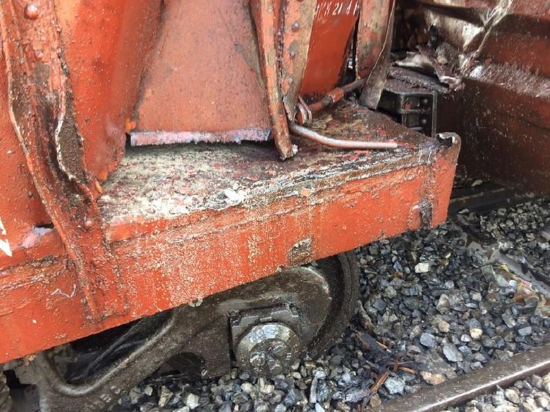 Hà Nội: 7 toa tàu hỏa bị trật khỏi đường ray - ảnh 5