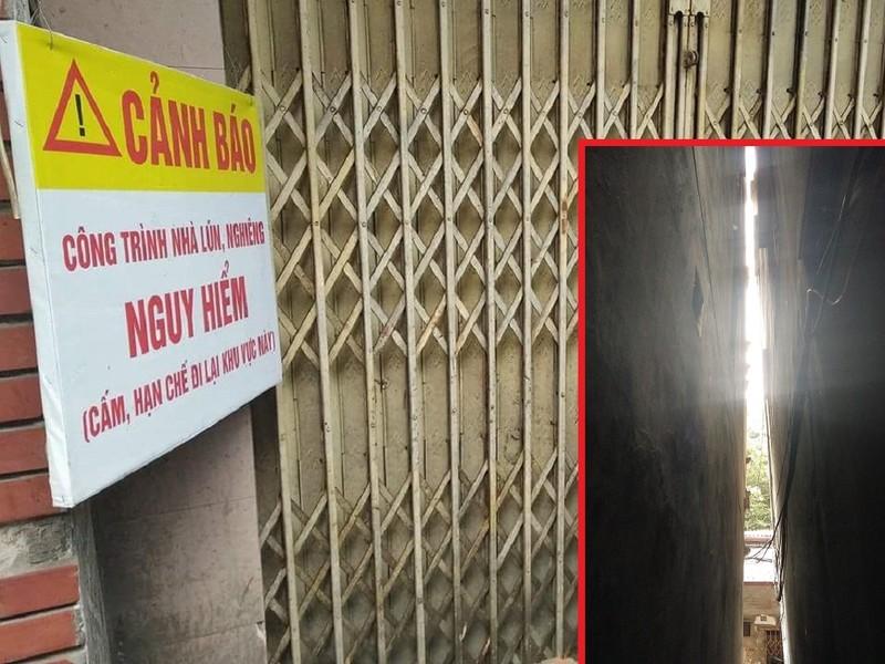 Hà Nội: Khiếp vía ngôi nhà nghiêng... 60 cm chờ đổ sập - ảnh 6