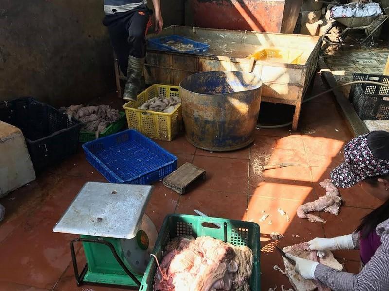 Nội tạng trâu bò mốc xanh giá… 2.000 đồng/kg - ảnh 2