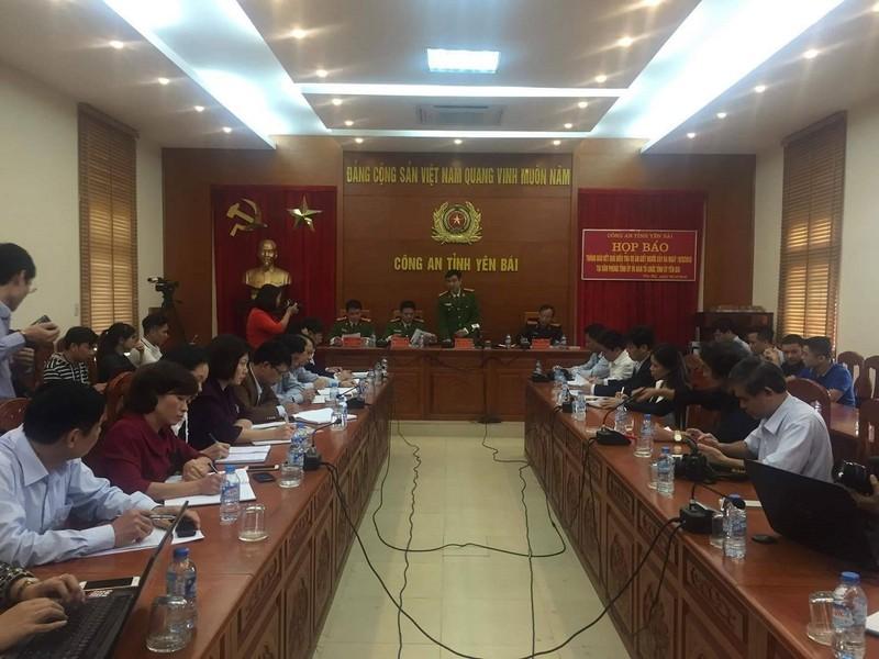 Công bố nguyên nhân vụ nổ súng tại tỉnh ủy Yên Bái