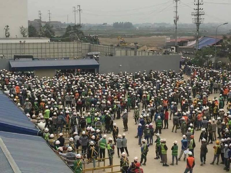 Chủ tịch Bắc Ninh: Đã xử lý ổn vụ ẩu đả tại Samsung - ảnh 1