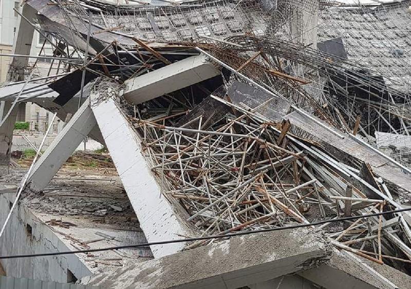 Trường mầm non ở Hà Nội sập khi đang đổ bê tông - ảnh 3