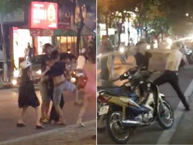 Khởi tố kẻ đánh người giữa phố vì 'bị nhìn đểu' - ảnh 1