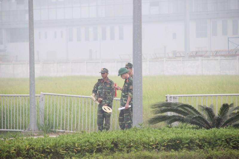 Siết chặt an ninh tại Nội Bài đón ông Tập Cận Bình  - ảnh 2