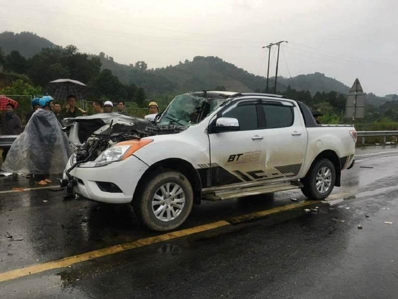 Tai nạn thảm khốc trên cao tốc, 2 cha con thương vong - ảnh 1