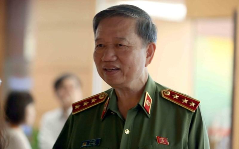 Bộ trưởng Tô Lâm nói về đổi mới tổ chức ngành công an  - ảnh 1