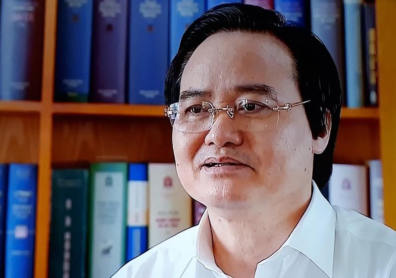 Vụ gian lận điểm thi: Bộ trưởng Phùng Xuân Nhạ nói gì? - ảnh 1