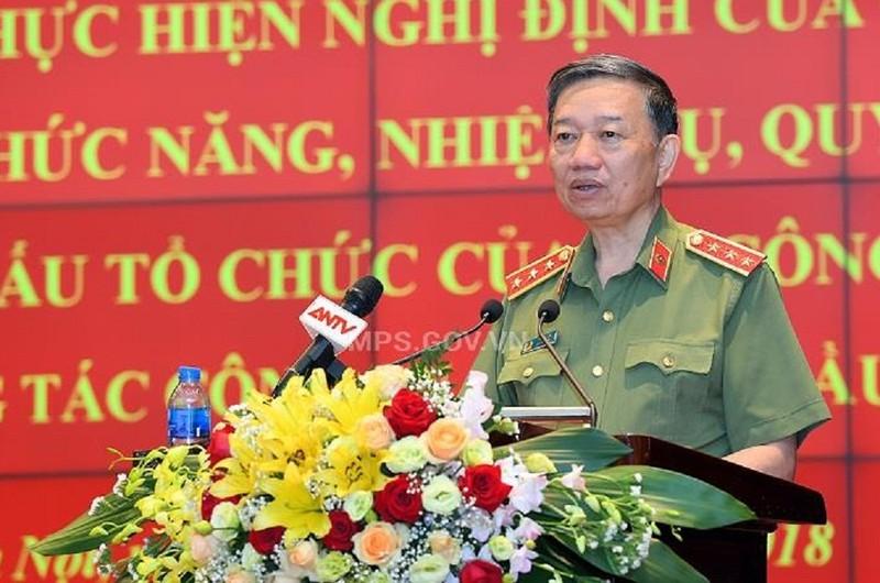 Bộ trưởng Tô Lâm: Khẩn trương sắp xếp cán bộ sau tinh gọn - ảnh 1