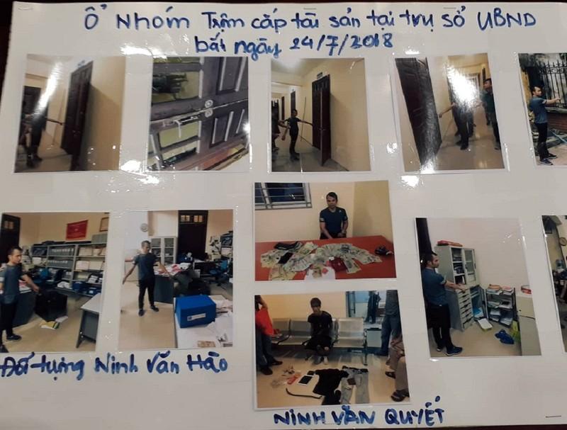 Hà Nội: Phá két sắt trong UBND huyện, lấy hơn 120 triệu đồng - ảnh 1