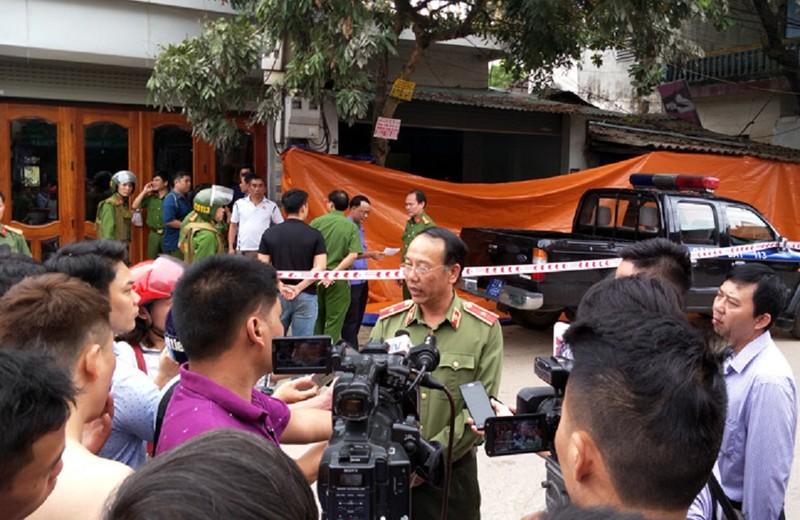 Công an thông tin vụ 2 vợ chồng bị bắn chết ở Điện Biên - ảnh 1