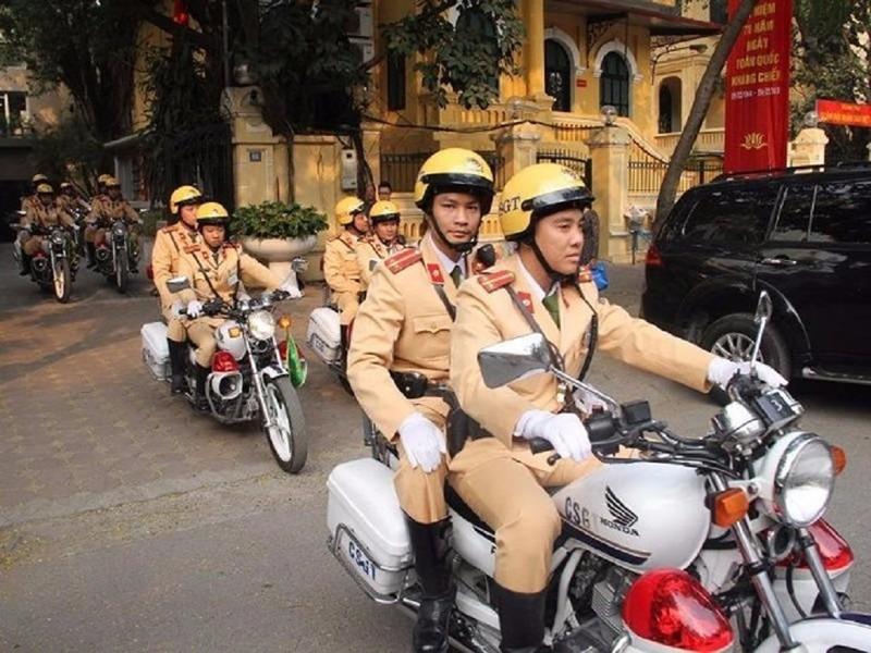 Hà Nội sẽ sáp nhập 2 phòng cảnh sát giao thông - ảnh 1