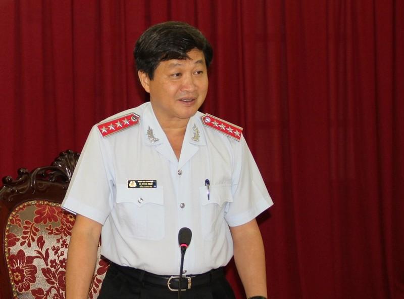 Thúc tiến độ thanh tra Công ty Gang thép Thái Nguyên... - ảnh 1