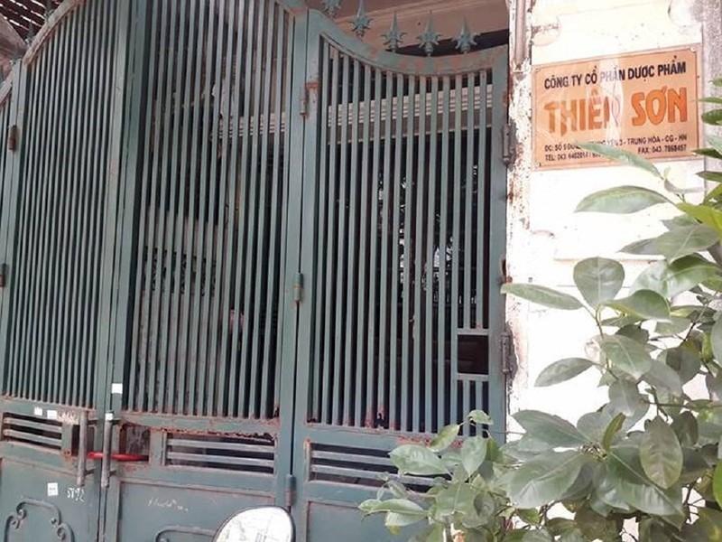 Vụ BS Lương: Vì sao giám đốc Công ty Thiên Sơn bị khởi tố? - ảnh 1