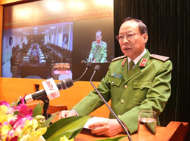Thứ trưởng Bộ Công an: Kiên quyết xử lý vi phạm về PCCC - ảnh 1