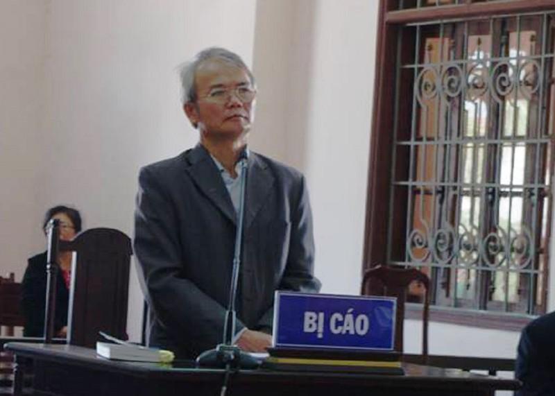 Y án 5 năm tù với cựu phó viện trưởng VKS tỉnh Thái Nguyên - ảnh 1