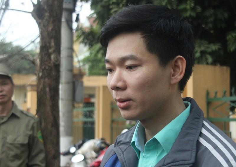 Sau nhiều ngày nằm viện, Hoàng Công Lương đã có mặt tại tòa - ảnh 1