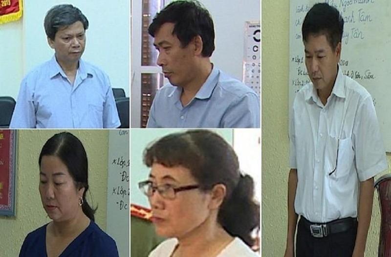 Bộ Công an xác minh dấu hiệu tội hối lộ vụ gian lận điểm thi - ảnh 1