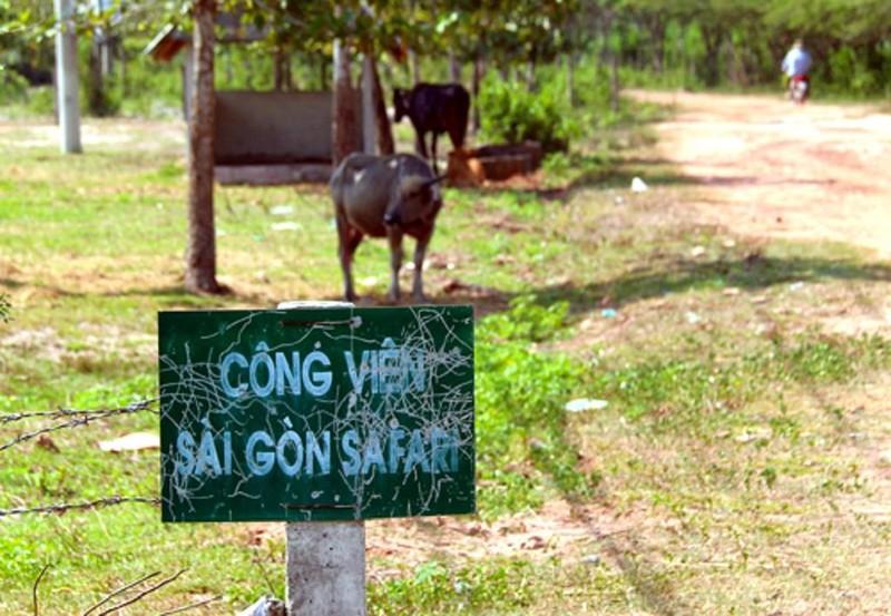 """Vì sao công viên Sài Gòn Safari bị """"treo"""" tới 14 năm? - ảnh 1"""