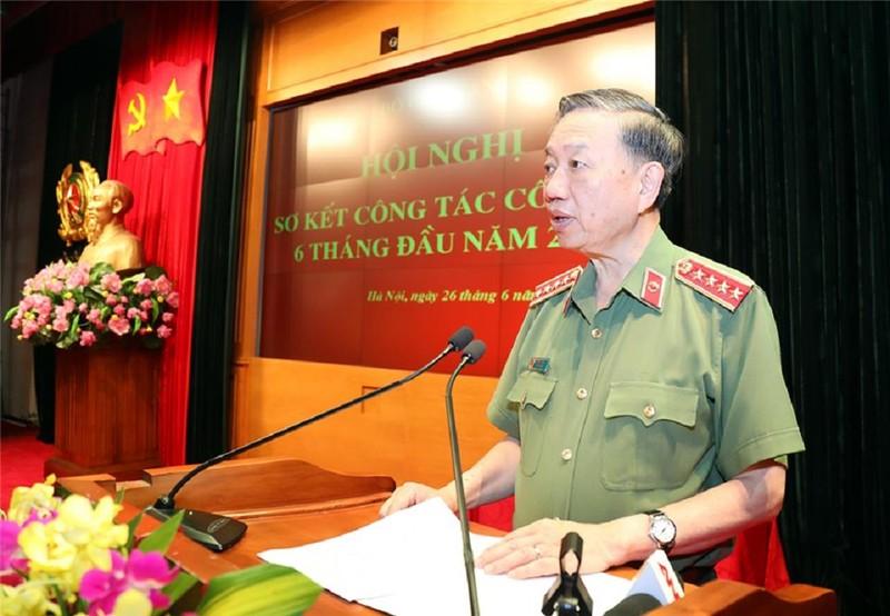 Thủ tướng dự hội nghị sơ kết của Bộ Công an - ảnh 2