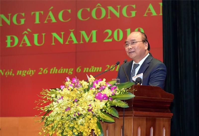 Thủ tướng dự hội nghị sơ kết của Bộ Công an - ảnh 1
