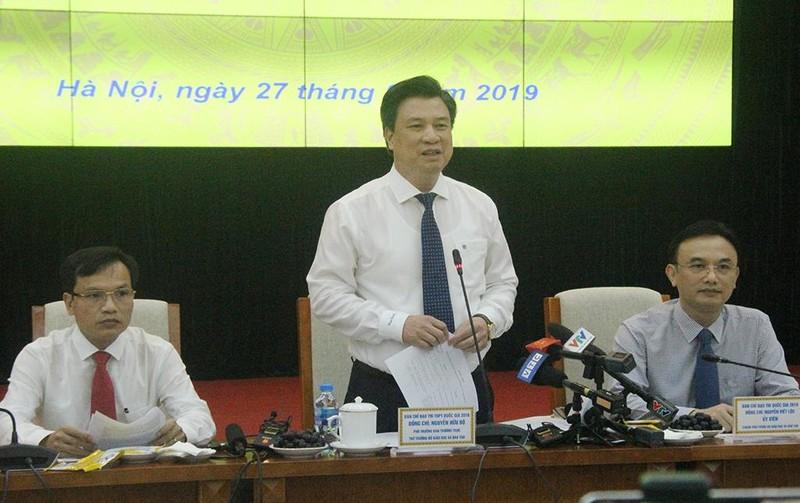 Bộ GD&ĐT nói về vụ thí sinh Phú Thọ chụp đề rồi gửi ra ngoài  - ảnh 1
