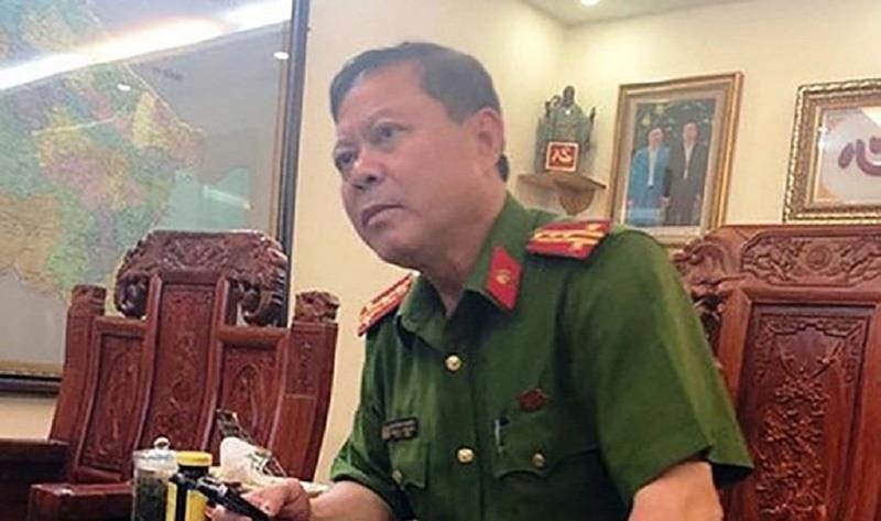Cựu trưởng công an TP Thanh Hóa bị khởi tố - ảnh 1