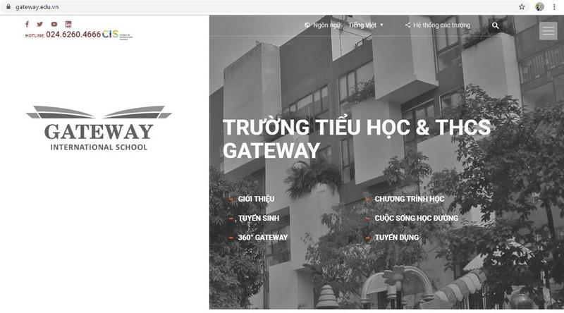 Sau vụ bé trai tử vong, Trường Gateway bỏ danh xưng quốc tế - ảnh 1