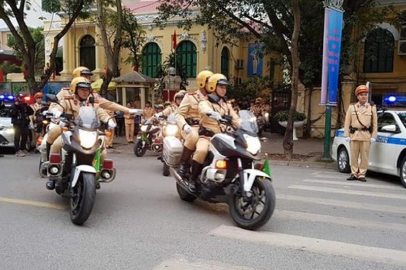 Công an Hà Nội tung quân trước trận đấu Việt Nam - Malaysia - ảnh 1