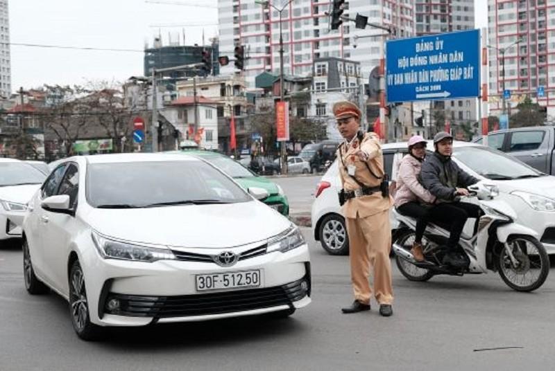 Bộ Công an: Phạt nặng những trường hợp cản trở giao thông - ảnh 1