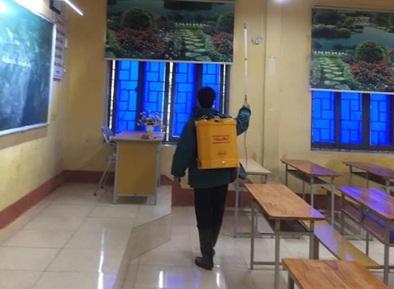 Sở GD Vĩnh Phúc thông tin về nữ sinh lớp 10 nhiễm virus Corona - ảnh 1