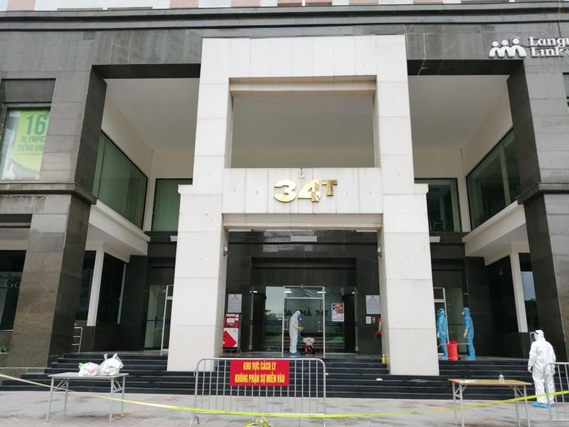 Hà Nội phong tỏa tòa chung cư 30 tầng vì COVID-19 - ảnh 2