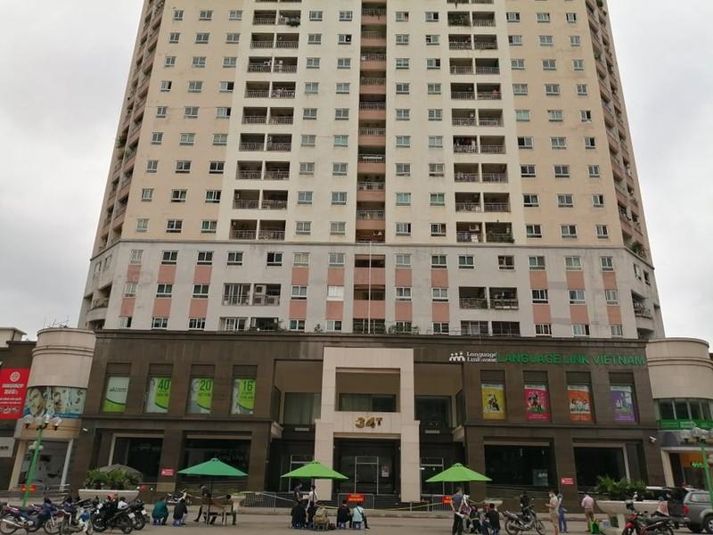Hà Nội phong tỏa tòa chung cư 30 tầng vì COVID-19 - ảnh 1