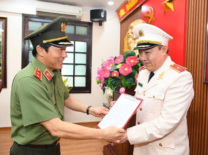 Bộ Công an bổ nhiệm Cục trưởng Cục An ninh Chính trị nội bộ - ảnh 1