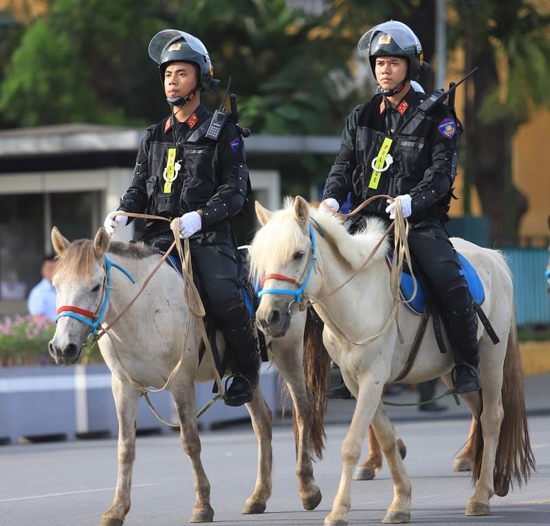 Bộ Công an chính thức ra mắt lực lượng kỵ binh - ảnh 2