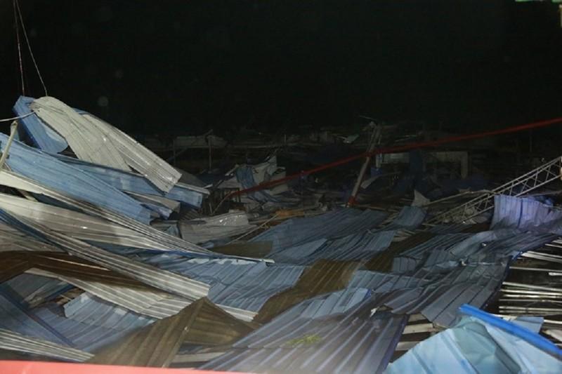 Vĩnh Phúc: Lốc xoáy làm 3 người chết, nhiều người bị thương - ảnh 1
