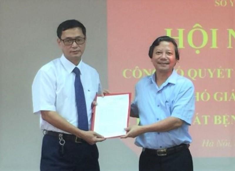 Sau bê bối 'nâng khống giá', CDC Hà Nội có lãnh đạo mới - ảnh 1