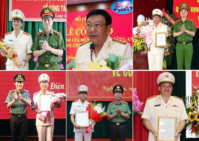 11 giám đốc công an tỉnh vừa được Bộ Công an bổ nhiệm - ảnh 1