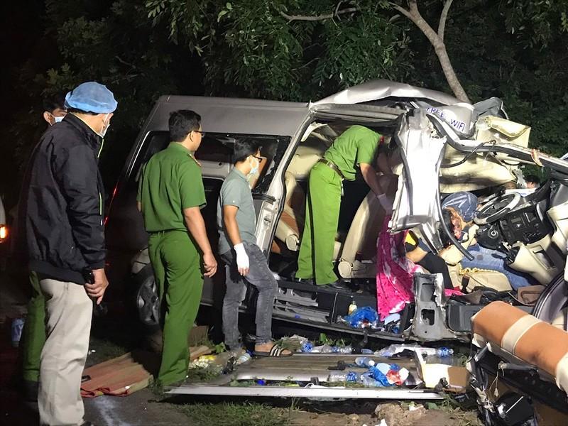 Cục CSGT ra công điện sau tai nạn 8 người chết ở Bình Thuận - ảnh 1