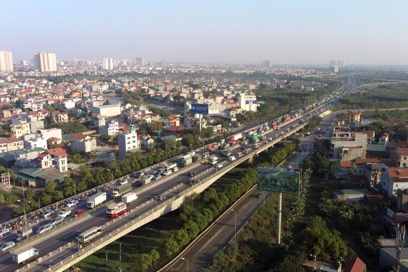 Cục CSGT đề xuất giảm tốc độ trên cây cầu lớn nhất Hà Nội - ảnh 1