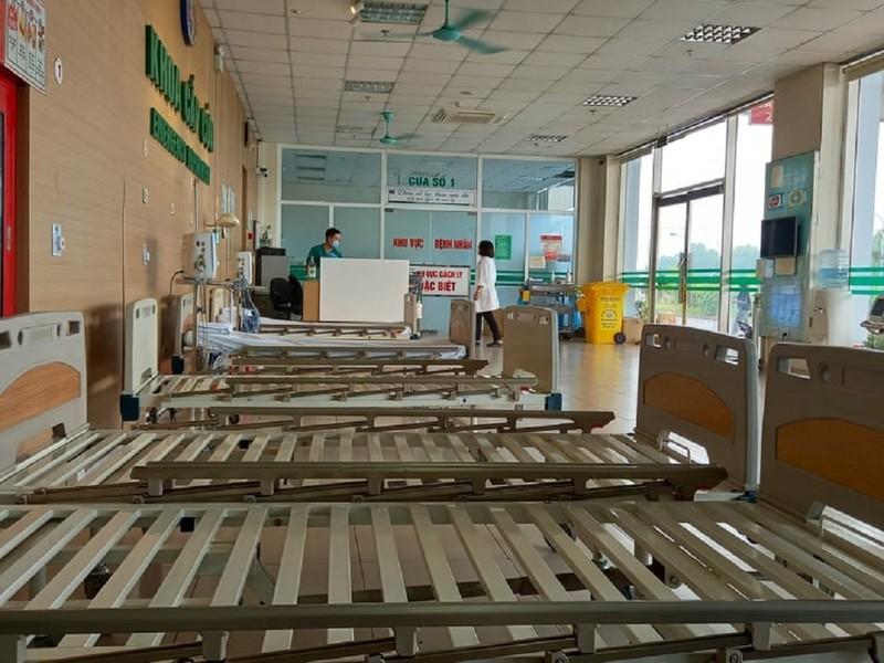 Cận cảnh bệnh viện đón 120 bệnh nhân COVID-19 vào chiều nay - ảnh 7