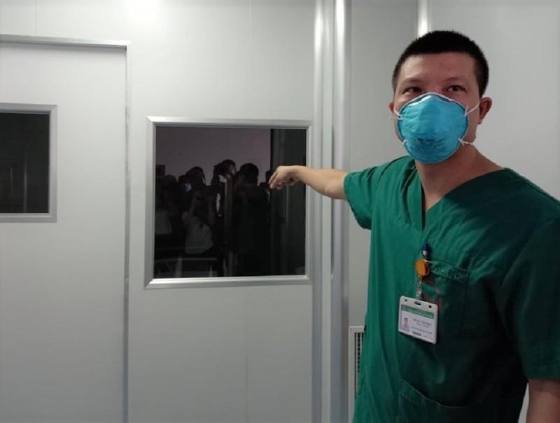 Cận cảnh bệnh viện đón 120 bệnh nhân COVID-19 vào chiều nay - ảnh 10