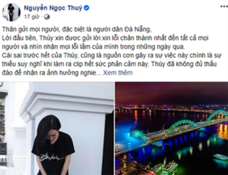 Bị phạt 7,5 triệu vì xúc phạm người dân Đà Nẵng - ảnh 1