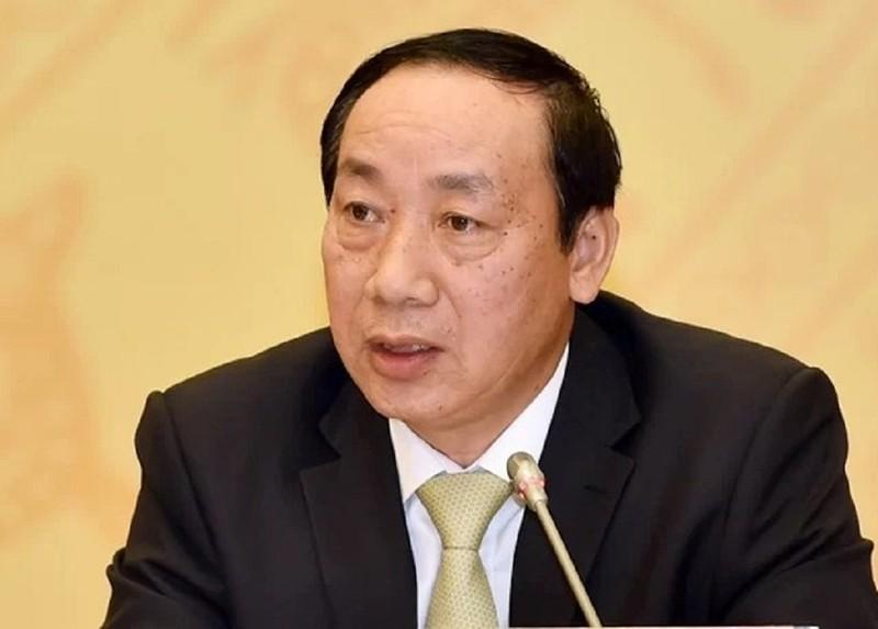 Bộ Công an bắt tạm giam cựu Thứ trưởng Nguyễn Hồng Trường  - ảnh 1