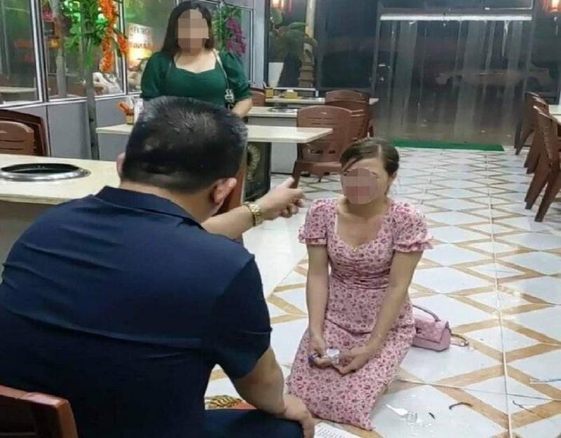 Triệu tập chủ tiệm vụ cô gái bị bắt quỳ xin lỗi vì chê đồ ăn - ảnh 1