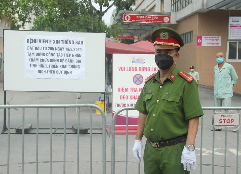 Bệnh viện E tạm đóng cửa, hàng trăm bệnh nhân phải quay về - ảnh 2