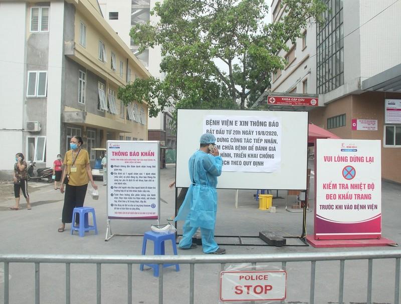 Bệnh viện E tạm đóng cửa, hàng trăm bệnh nhân phải quay về - ảnh 3