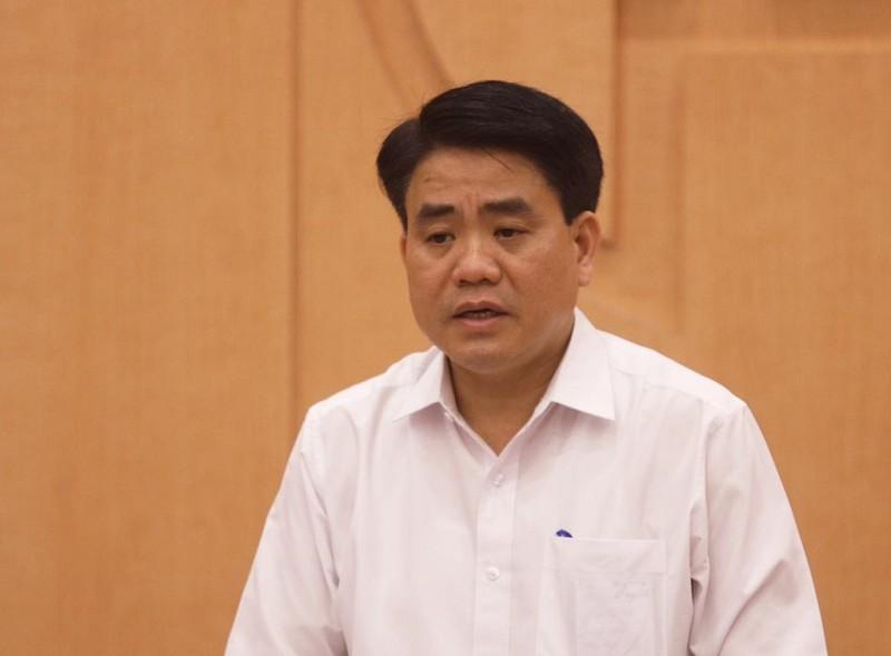 Bộ Công an bắt giam Chủ tịch TP Hà Nội Nguyễn Đức Chung - ảnh 1