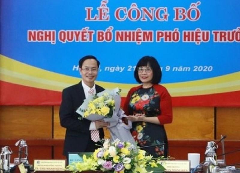 Đại học Luật Hà Nội có tân Phó hiệu trưởng - ảnh 1