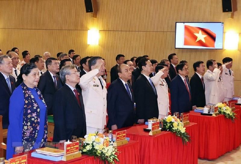 Khai mạc Đại hội Đảng bộ Công an Trung ương - ảnh 2